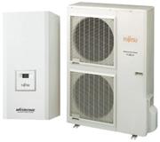 Тепловий насос (спліт-система) комфортної серії Fujitsu General WaterStage