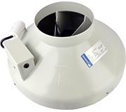Вентилятор в пластиковому корпусі Systemair RVK sileo