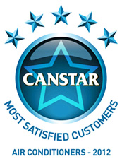 2012 Canstar Blue Most Satisfied Customers Award